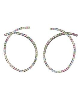 Auburn Swarovski Crystal Earrings