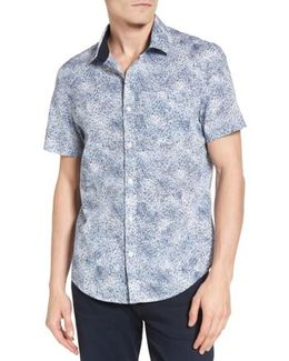 Heritage Slim Fit Spray Woven Shirt