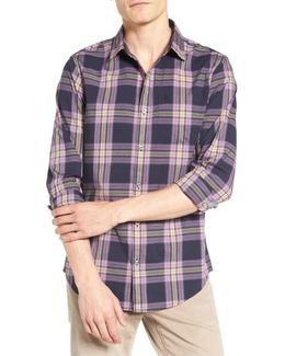 Heritage Slim Fit Plaid Woven Shirt