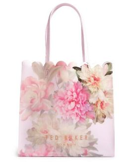 Painted Posie Large Icon Bag