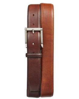 Hand Antiqued Leather Belt
