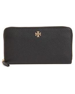 Frida Zip Around Leather Wallet