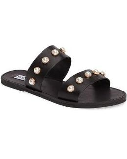 Jole Embellished Slide Sandal