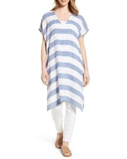 Stripe Organic Linen Tunic