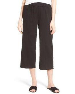 Organic Cotton Crop Pants
