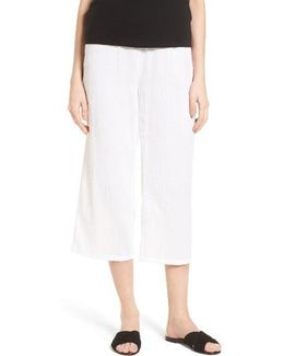 Organic Cotton Crop Pants