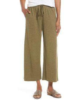 Hemp & Organic Cotton Wide Leg Pants