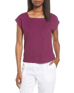 Hemp & Organic Cotton Knit Crop Top
