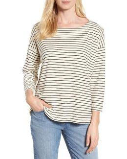 Stripe Boxy Sweater