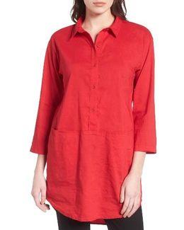 Organic Linen Blend Tunic