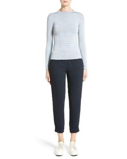 Micro Pipe Knit Top