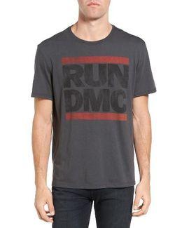 Run Dmc Logo Graphic T-shirt