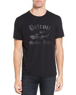 Detroit Motor City Graphic T-shirt