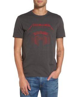 Metallica Sanitarium Graphic T-shirt