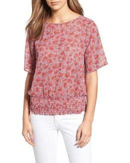 Augusta Print Kimono Sleeve Top