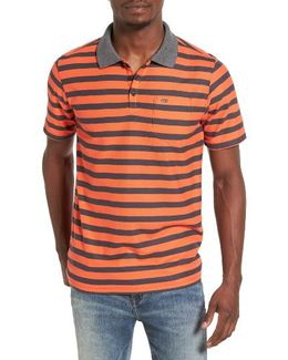 Lido Stripe Dri-fit Polo