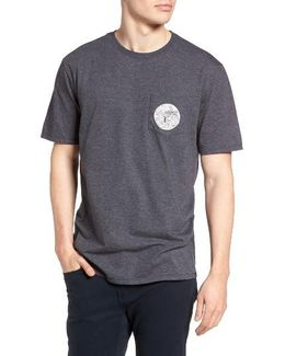 No Surfboard Graphic Pocket T-shirt