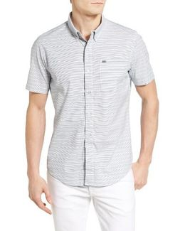 Riser Striped Woven Shirt