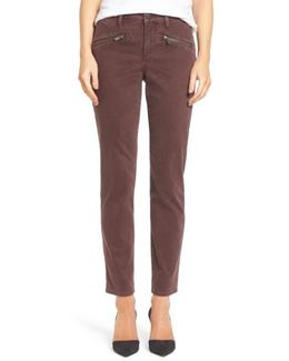 Zip Pocket Skinny Chinos