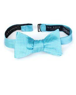 Warp Dot Silk Bow Tie