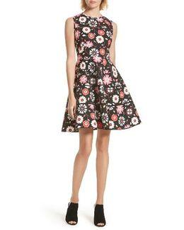 Casa Flora Fit & Flare Dress