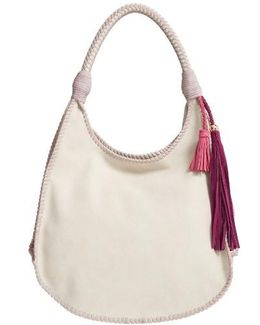 Faux Leather Hobo