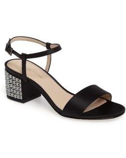 Alicia Block Heel Sandal