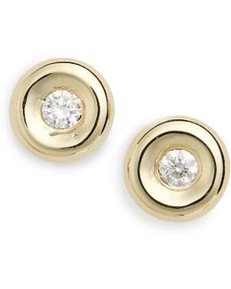 Tiny Treasures Diamond Stud Earrings