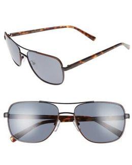 59mm Polarized Navigator Sunglasses