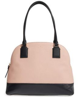 Young Lane - Small Anika Leather Dome Satchel