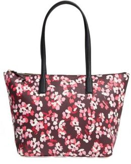 Young Lane - Nyssa Coated Canvas Tote