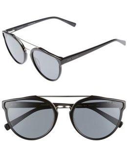 Retro 57mm Polarized Sunglasses