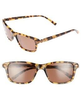 55mm Polarized Sunglasses - Havana