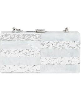 Acrylic & Glitter Box Clutch