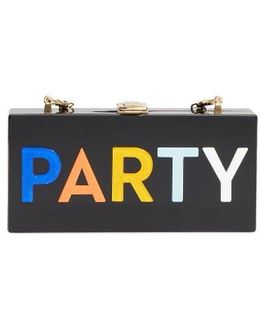 Party Box Clutch