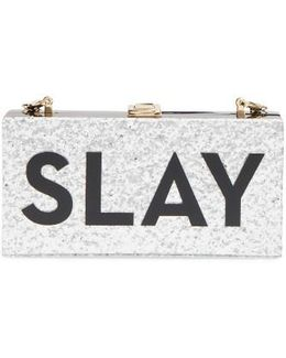 Slay Box Clutch - Metallic