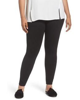 High Waist Seamed Leggings