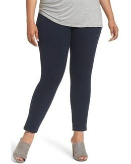 Toothpick High Rise Denim Leggings