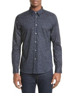 Extra Trim Fit Constellation Print Sport Shirt