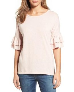 Caslon Tiered Bell Sleeve Tee