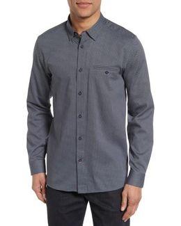 Lizbun Slim Fit Print Sport Shirt