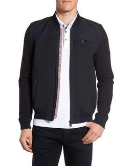 Stevan Modern Slim Fit Zip Fleece