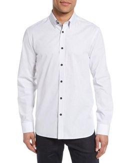 Arkells Modern Slim Fit Print Sport Shirt