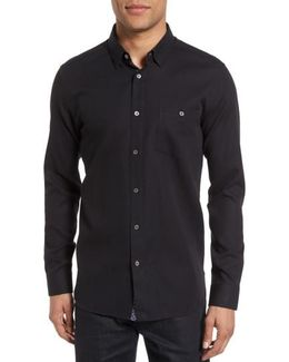 Nordlux Modern Slim Fit Stretch Cotton Sport Shirt