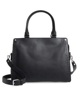 Logan Leather Satchel