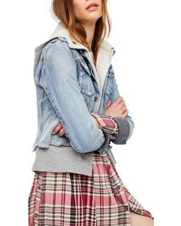 Double Weave Denim Jacket
