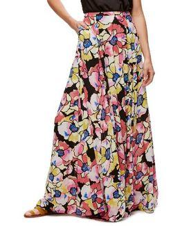 Hot Tropics Maxi Skirt
