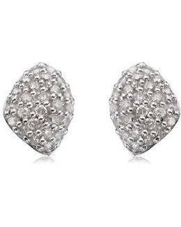 Nura Mini Diamond Stud Earrings