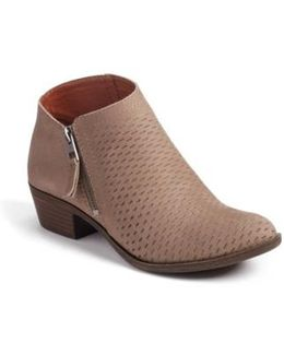 Brielley Perforated Bootie