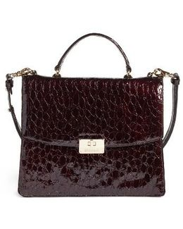 Dante Simone Top Handle Leather Satchel